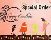 Special Order for Nicole