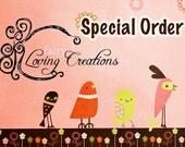 Special Order for Jill