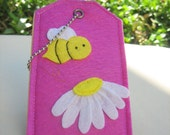 Free shipping!  Honey bee.-Luggage ID,Personal tag or Gift tag