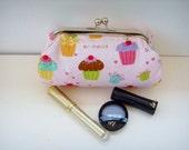 Little  Cupcakes Clutch / Make-up Bag