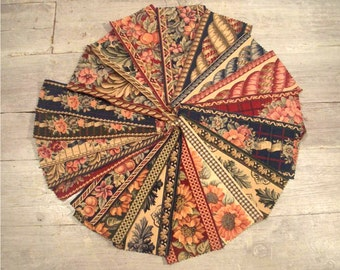 Tapestry, Vintage Trim, 20 Pieces, Shabby Chic, Traditional Border, Strong Cotton, DIY Crafting Notions, Victorian Floral, Free Shipping