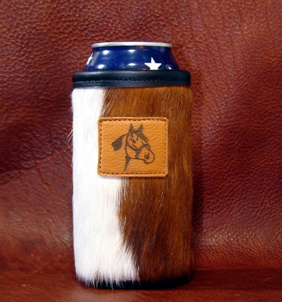Water Bottle Quarter Prank: Items Similar To Quarter Horse Accent On A Cowhide Leather