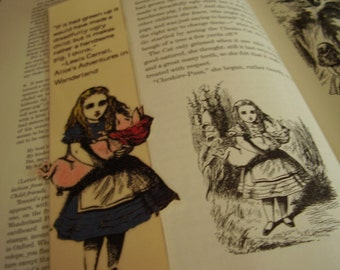 Alice and the Handsome Pig Two Bookmark (laminated)