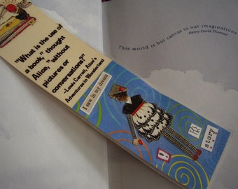 SALE - Pictures and Conversations Bookmark - The Story (laminated)