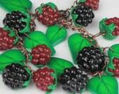 Wild berries bracelet