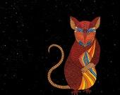 ZODIAC RAT ART - Chinese Zodiac Animals by Thailan When