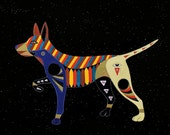 ZODIAC DOG ART - Chinese Zodiac Animals by Thailan When