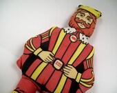 Burger King vintage plush doll Make Way For The King