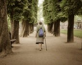 Paris Photograph, Luxembourg Garden France Photo Pastel Tones Neutral Colors Wall Art Fine Art Print par21