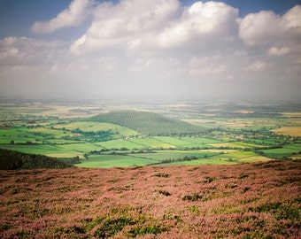 England Photography Heather Moors Photo Yorkshire Photograph Britain Print uk Landscape Wutheriing Bronte eng3