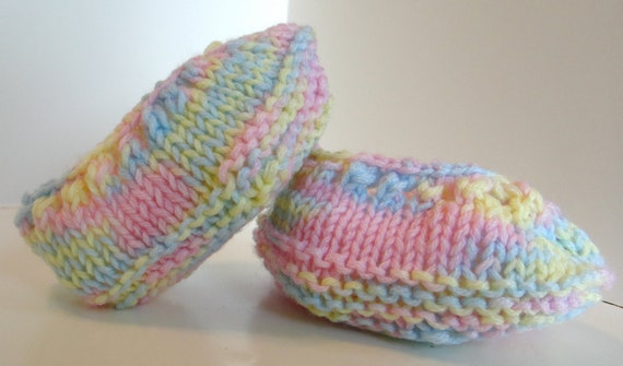 Ballet Flat Style Baby Booties