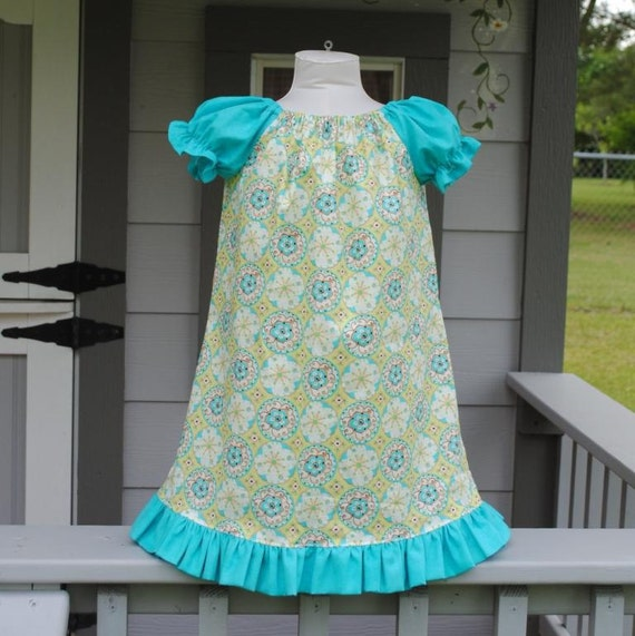 Toddler Peasant Dress - Size 3T Ready to Ship