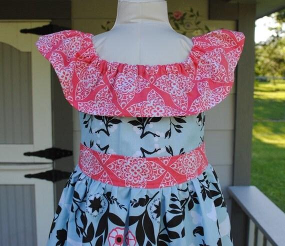 Day Dreamer Dress in Ty Pennington Fabric
