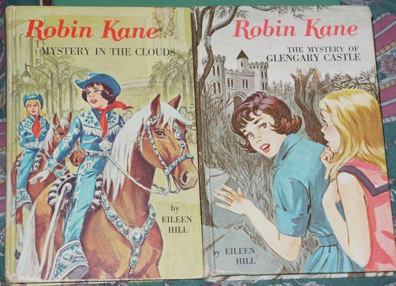 Two Robin Kane Mysteries by Eileen Hill  Whitman Books