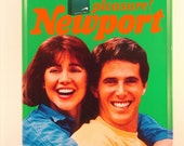 Vintage Newport Metal Sign from 1987