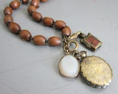 Charm Necklace of Antique Treasures