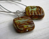 Earthly Treasures - Czech Glass & Sterling Silver