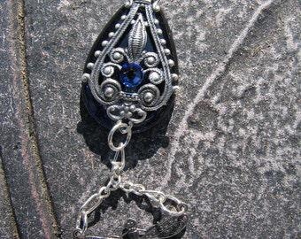 Steampunk Necklace Pendant Dragonfly Rain Lauri Jon Stardust Steampunk (TM)