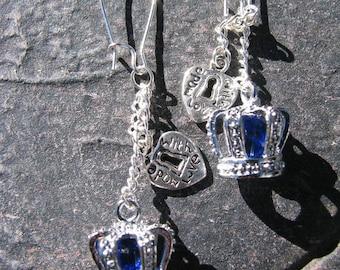 Stunning Sapphire Crystal Crowns Amour Valentine by Lauri Jon Stardust Steampunk (TM)
