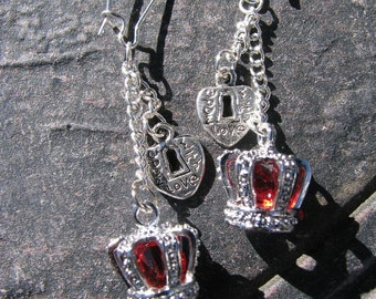 Revealing Ruby Crystal Crowns Amour Valentine by Lauri Jon Stardust Steampunk (TM)