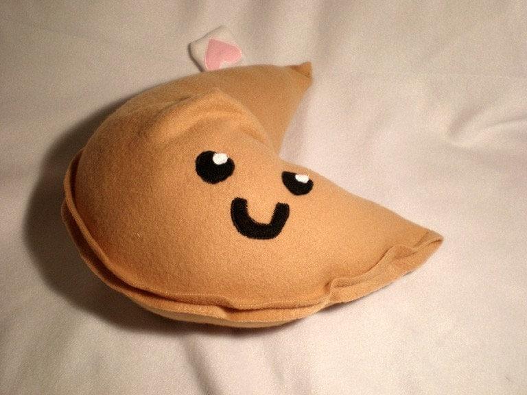 Fortune Cookie Pillow ... Dangan Ronpa Monobear Plush