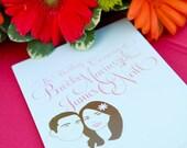 Custom Wedding Ceremony Program - Design Only DIGITAL DOWNLOAD