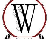 Custom Wedding Logo Design
