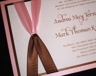 Coupled - Wedding Invitations