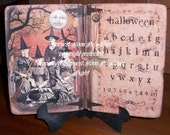 PRIMITIVE HALLOWEEN CARD - The Gathering