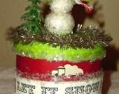 Let is Snow, Little Snowman box
