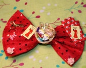 Red Sewing Love Bow