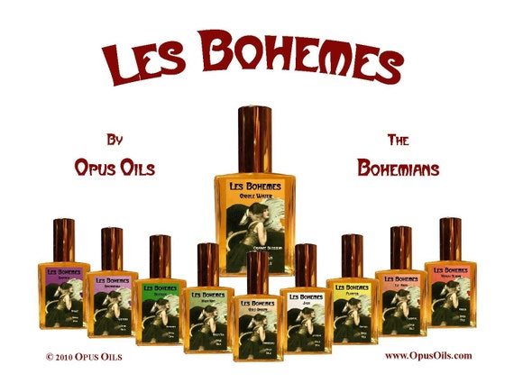 Limited Edition  Les Bohemes Eau De Parfum  Deluxe Scent Coffret