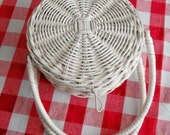 WICKER PURSE - For Little Girls - Vintage for Sunday Best