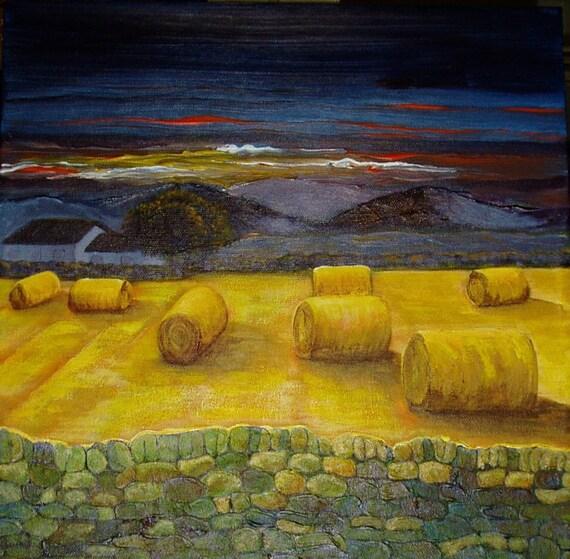 Harvest, Original Painting