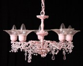 Ruler of All Pink Chandeliers MADE TO ORDER