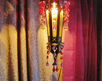 Arabian Nights Mediterranean Pendant Lantern MADE TO ORDER