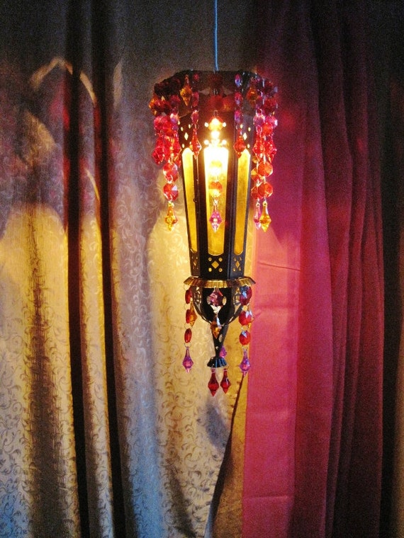 Arabian Nights Mediterranean Pendant Lantern