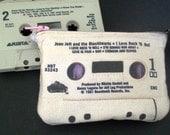 Joan Jett I Love Rock & Roll 80s Retro Mini Cassette Tape Clutch