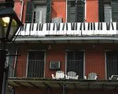 Piano Balcony - 8x10 Fine Art Photograph