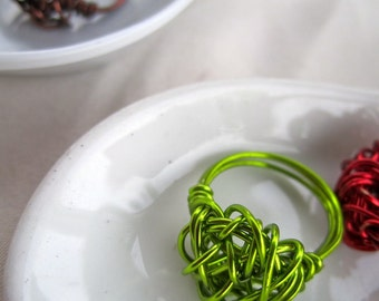 Entangled Wire Ring