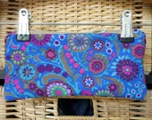 embroidered/quilted pouch