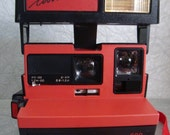 Vintage Cool Cam Red Polaroid Instant Camera