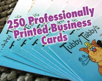 Business Cards - CUSTOM FULL COLOR Quantity of 250