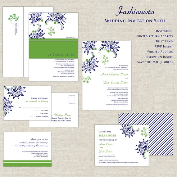 navy green wedding invitations irish wedding invitations With navy wedding invitations ireland