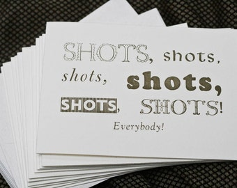 DEAL: Set of 5 Specialized Letterpress Cards