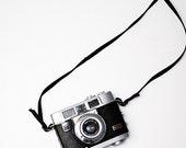 Vintage camera photograph 8x8 camera photo camera photography retro wall art kodak fine art mod home decor black white