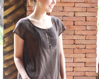 SALE 29 USD--B224--Beautiful Simple Blouse