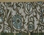 New Window Curtain/Valance Village Blue Collection