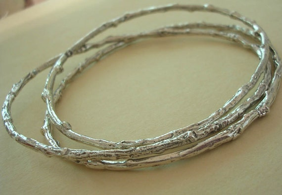 Bangle Bracelet Sizes Plus Size Twig Bangle Bracelet