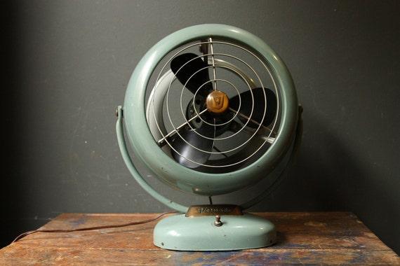 RESERVED Vintage 1950s Industrial Vornado Electric Fan /  B24C1-1